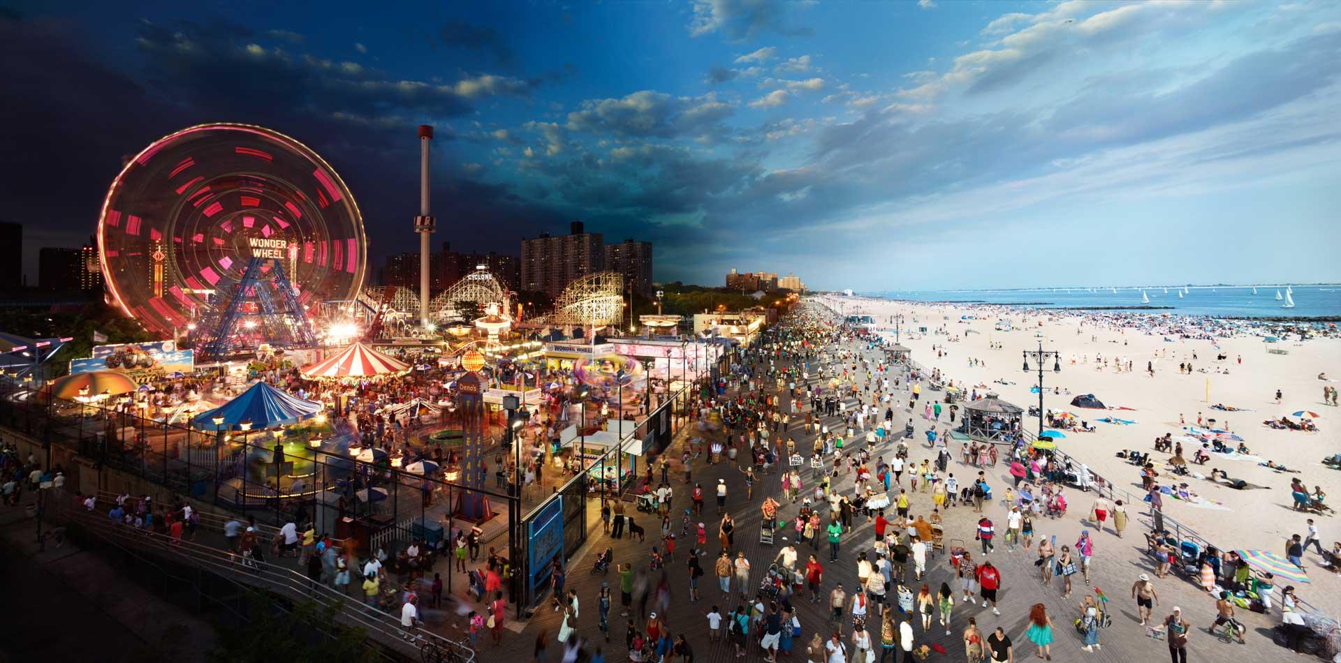 Luna Park em Coney Island/ Crédito foto: http://novayorkevoce.com/luna-park-em-coney-island-nova-york/