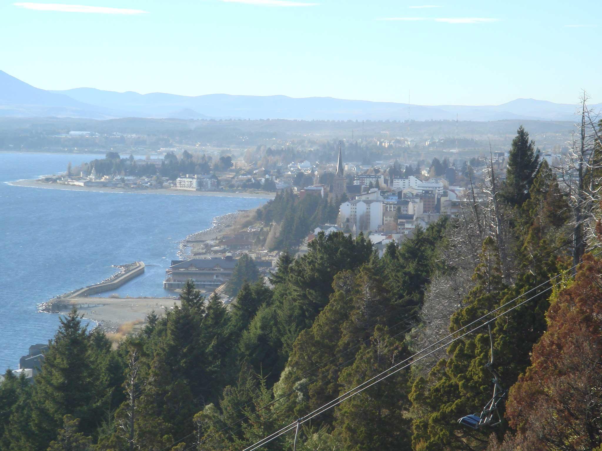 Vista da cidade no alto do Cerro Viejo
