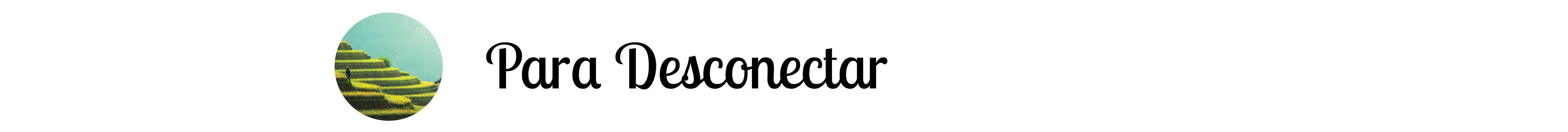 para desconectar