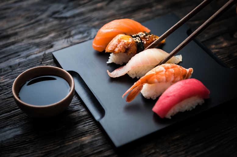 Sushi do Azabu Yukimuraem Tóquio