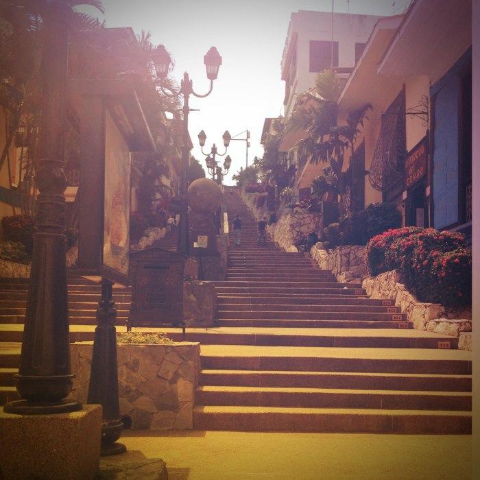 Escadaria em Guayaquil