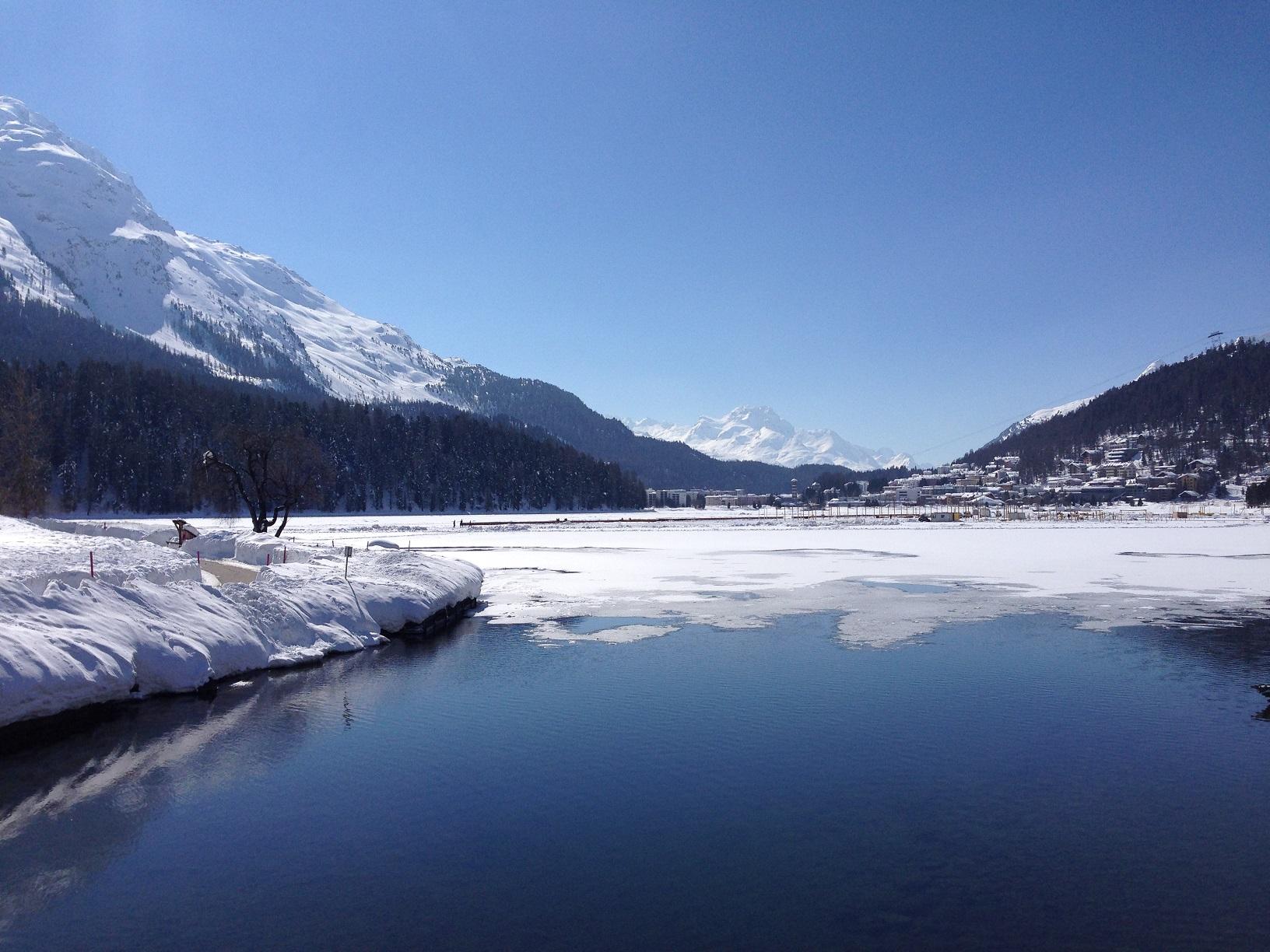 St. Moritz Winter Lake