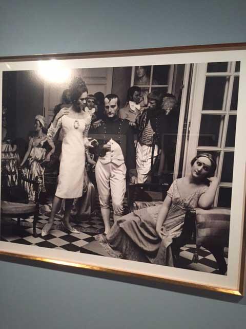 WILLIAM KLEIN: Isabella & Napoleón, Musée Grévin, 1963, Paris)