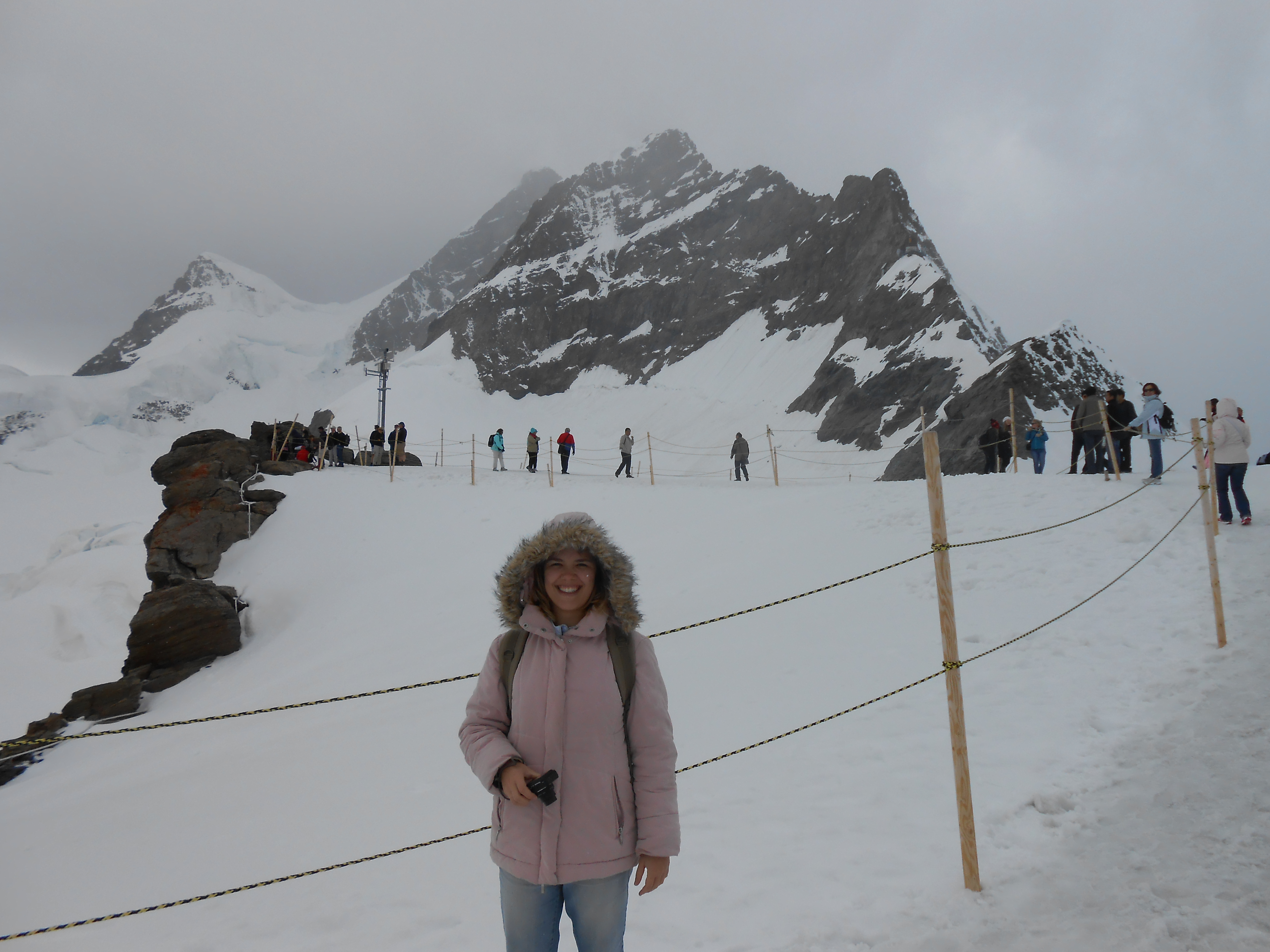 No topo do Jungfraujoch
