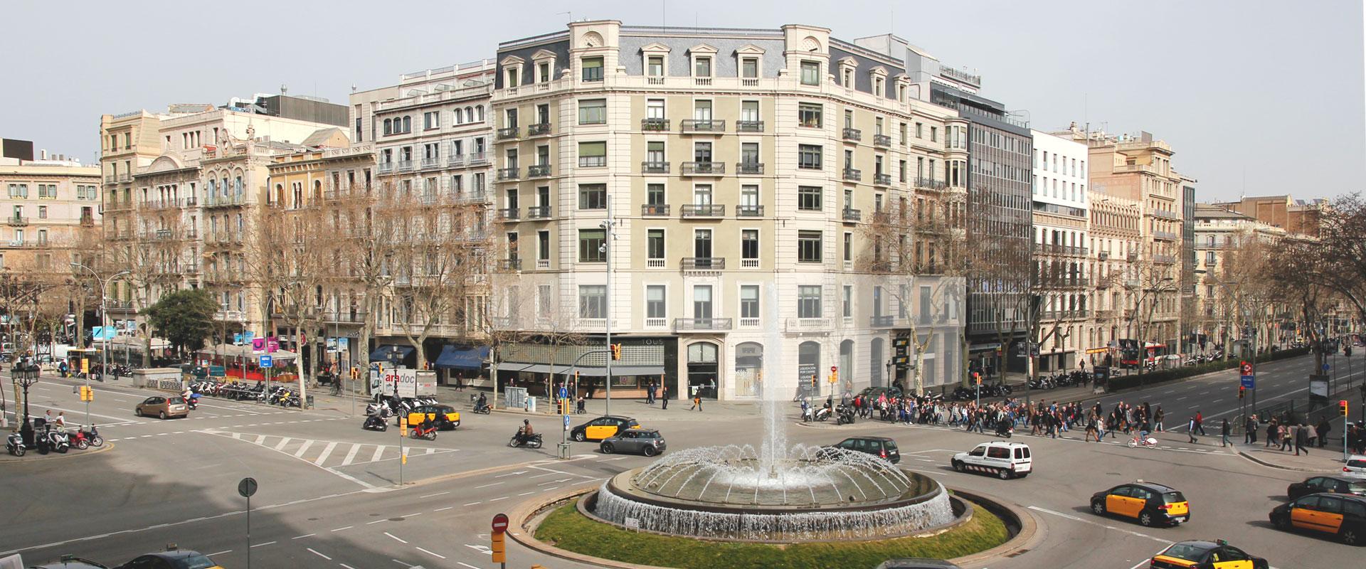 Passeig de Gràcia/ Crédito foto: http://paseodegracia18.com/