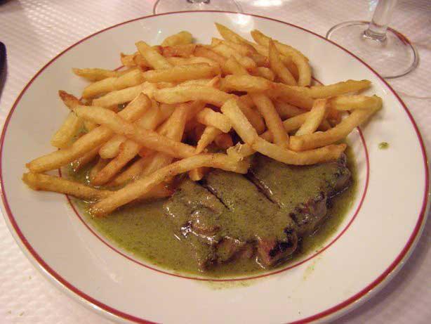 Crédito foto: http://www.viagensbacanas.com.br/restaurante-le-relais-de-lentrecote-em-paris/
