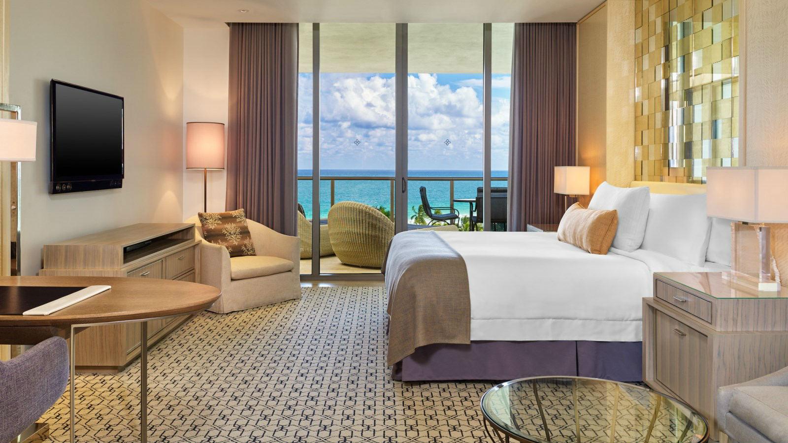 Crédito foto: divulgação St. Regis Bal Harbour Resort