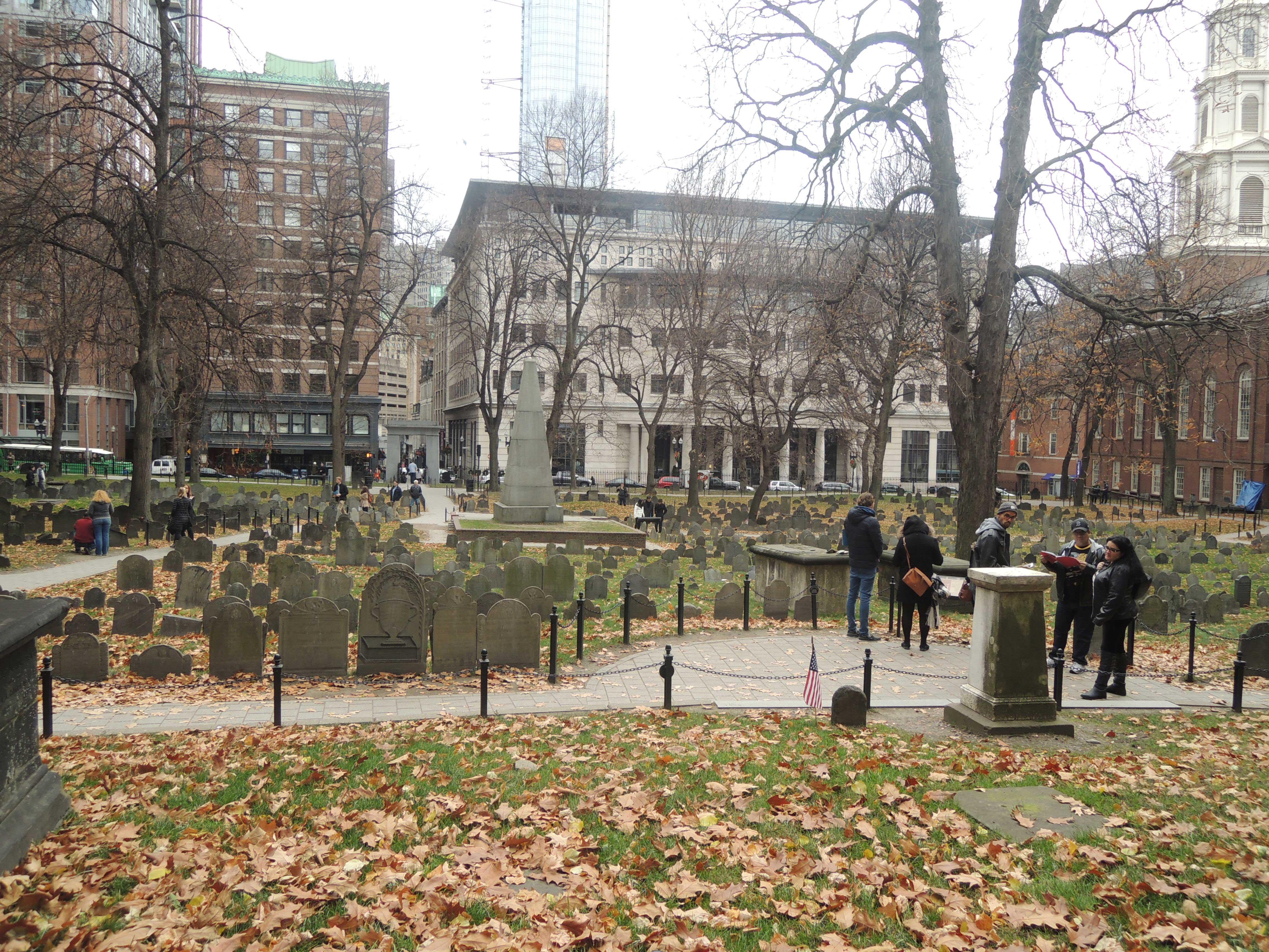 Cemitério onde estão enterrados alguns revolucionários da independência