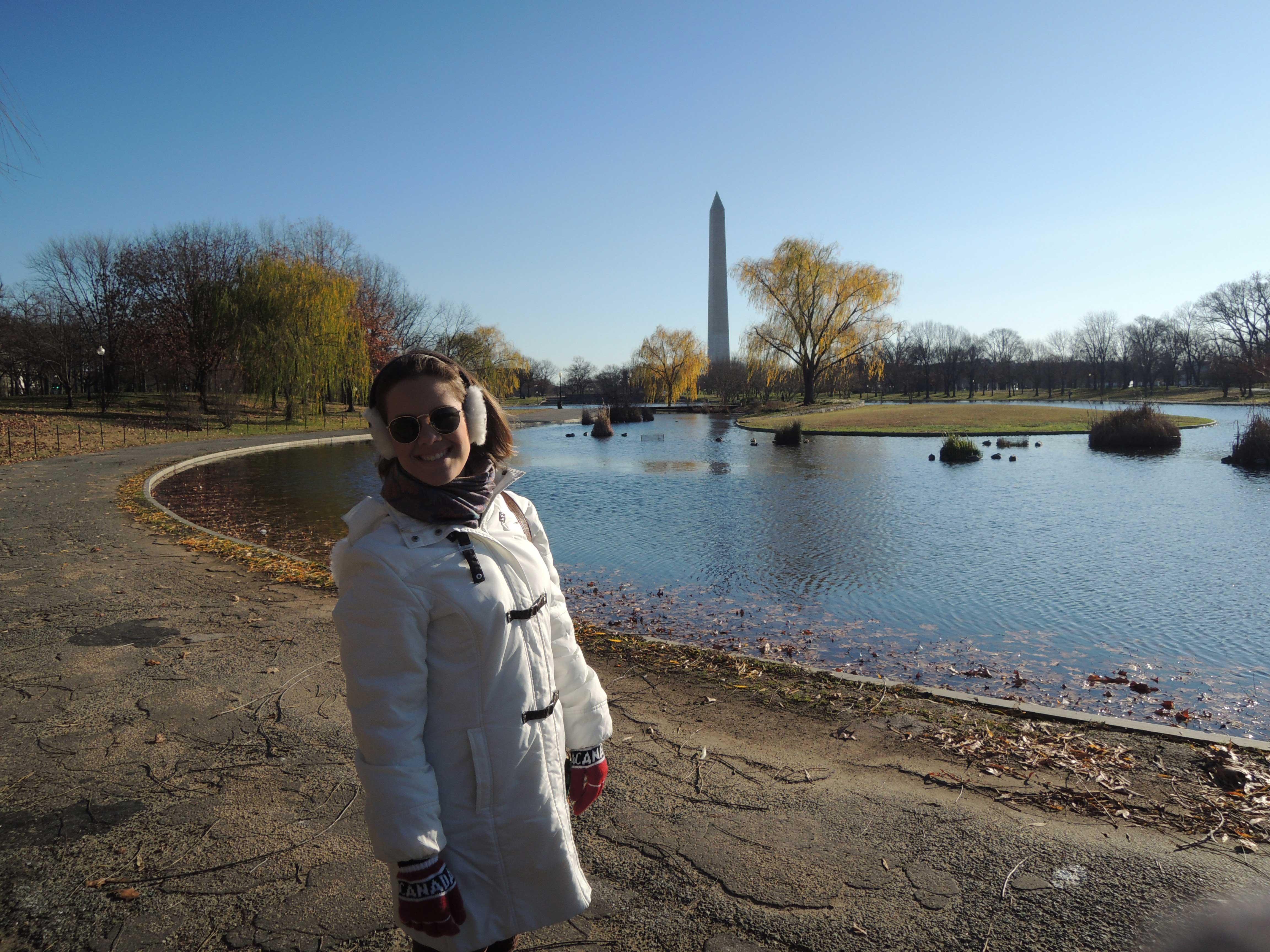 Jardins do Congresso, em uma caminhada próximo ao obelisco