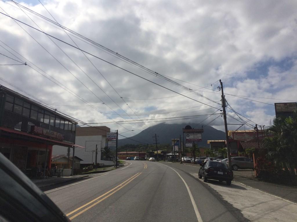 Vulcão Arenal visto ao fundo