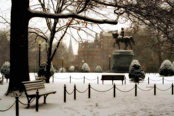 Boston Public Garden/ Crédito foto: https://br.pinterest.com/pin/298926493992050835/