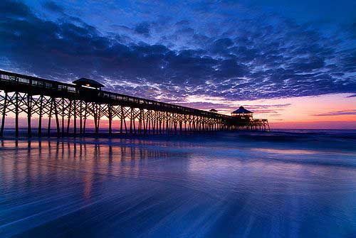 Folly Beach/ Crédito foto: https://br.pinterest.com/pin/450641506436134554/