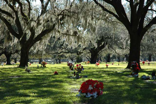 Memorial Park/ Crédito foto: http://tharpgenealogy.com/showmap.php?cemeteryID=57&tree=