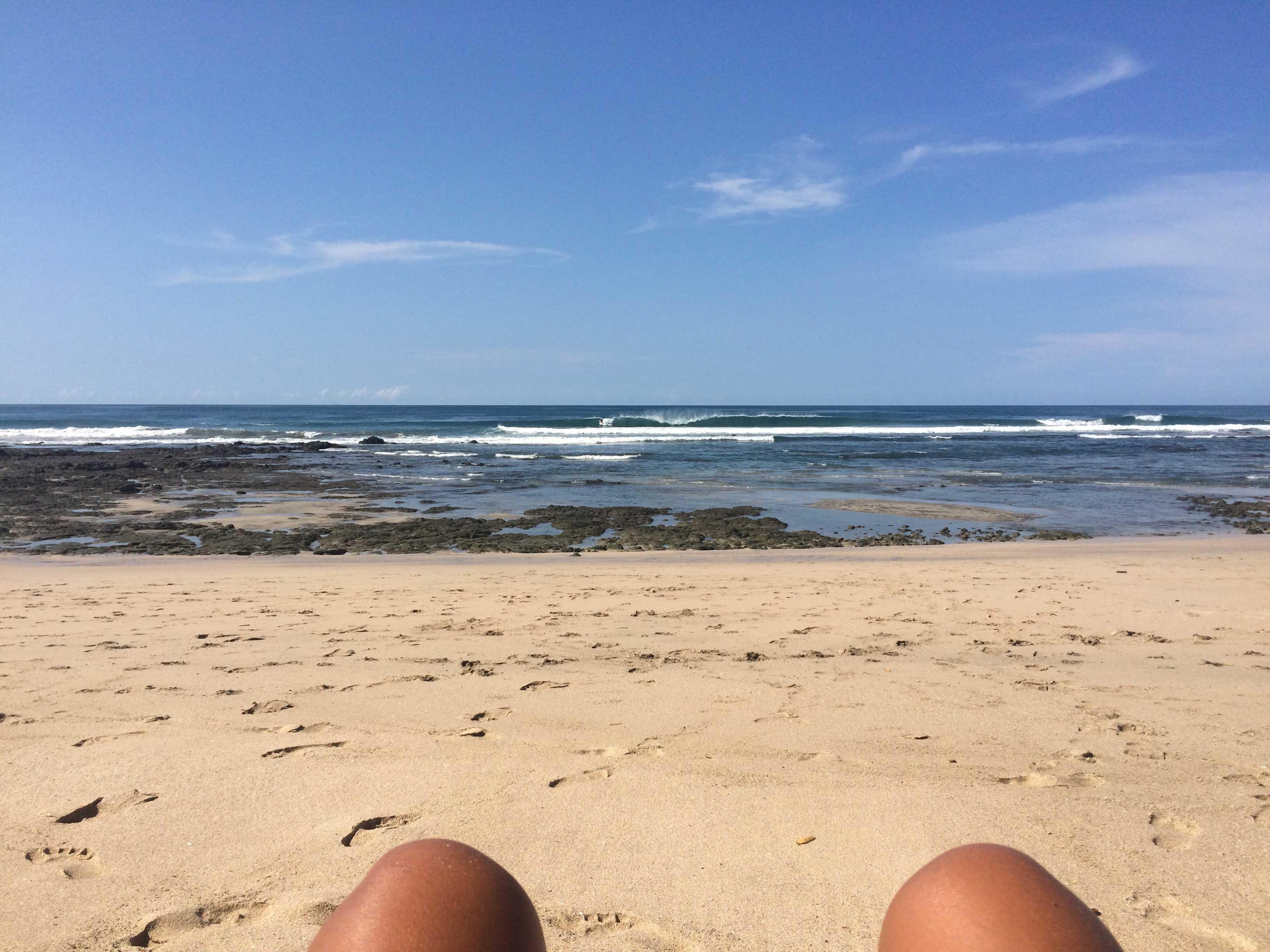 Playa Negra, boa para o surf e para aproveitar as piscinas naturais