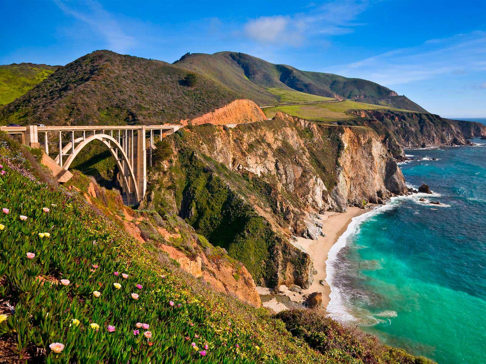Big Sur/ Crédito foto: http://blog.encontresuaviagem.com.br/destinos/highway-1-incrivel-beleza-pela-costa-californiana