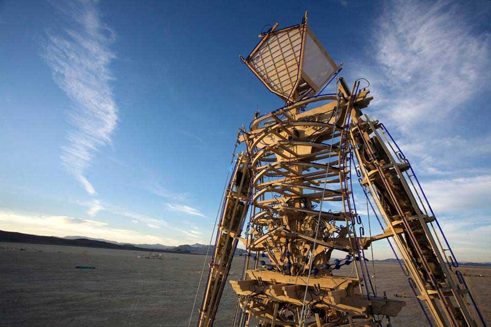 Crédito foto: divulgação Facebook Burning Man
