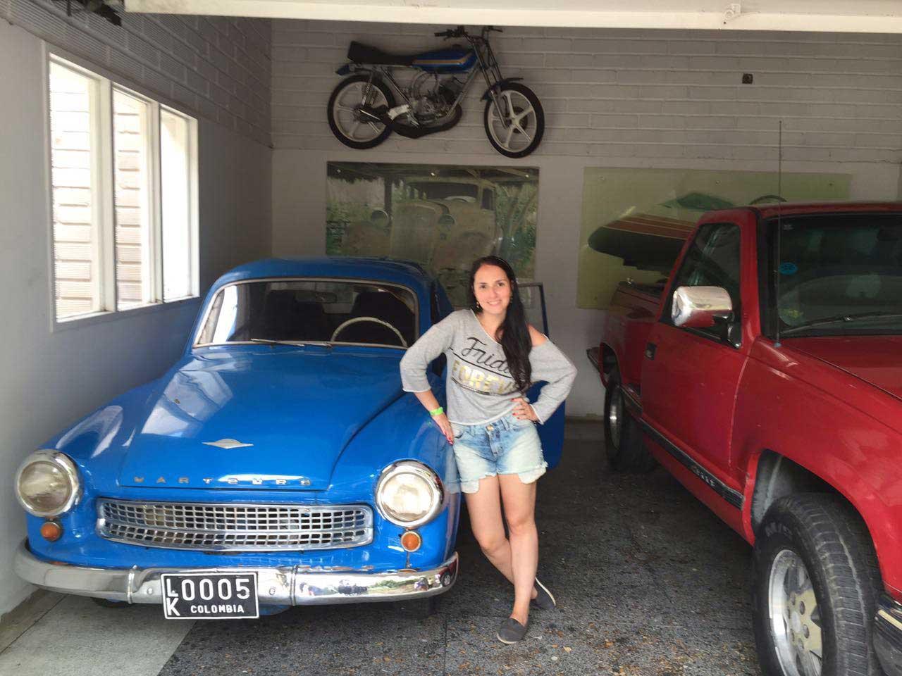 Carros que pertenceram a Pablo Escobar