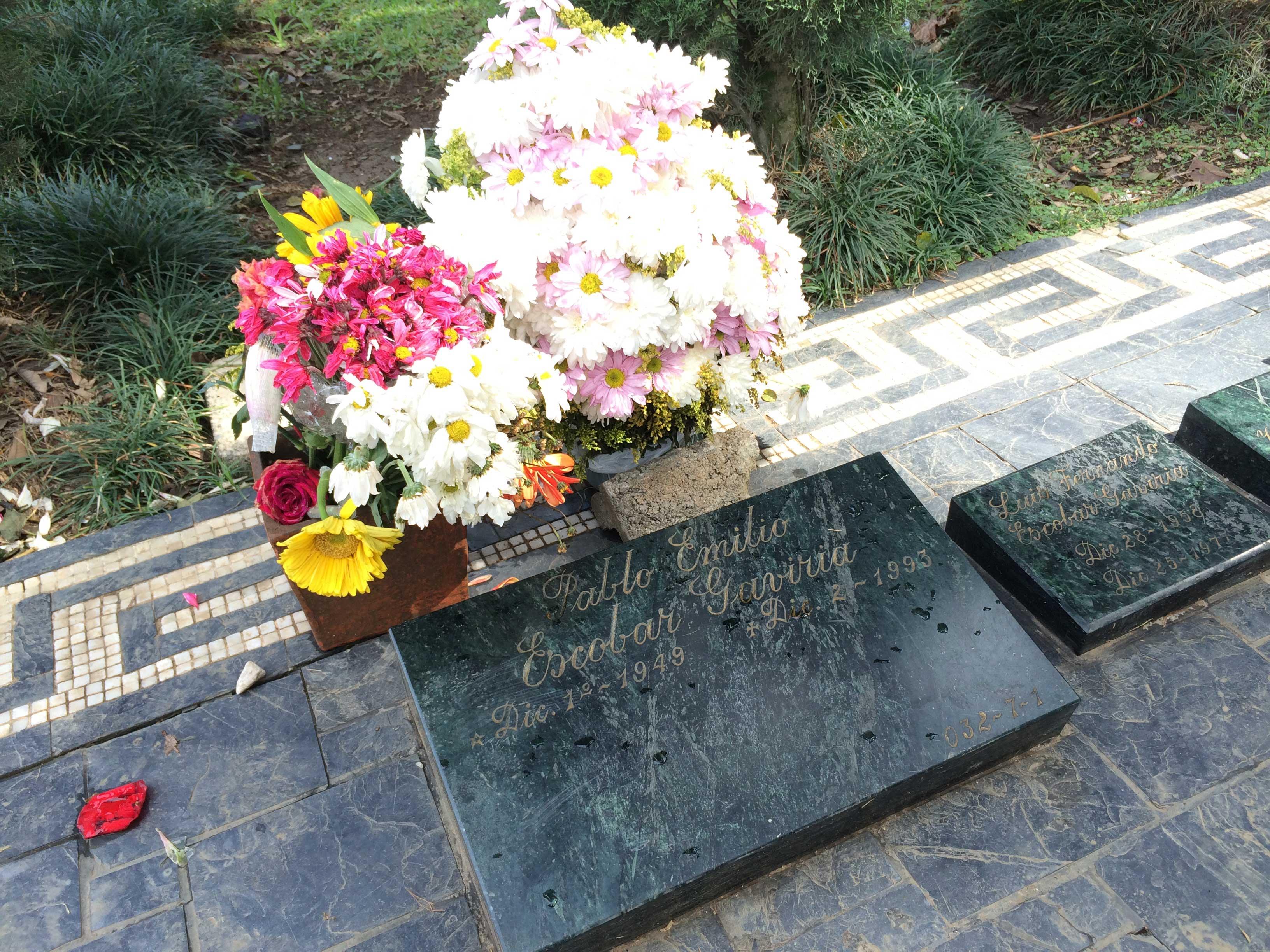Túmulo de Pablo Escobar