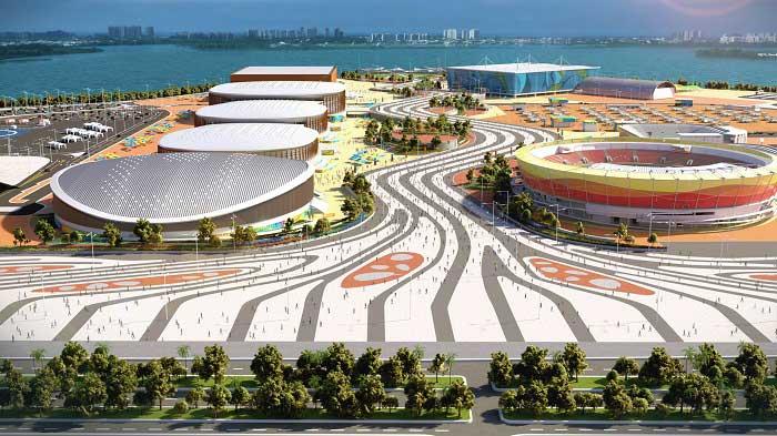 Parque Olímpico Barra da Tijuca/ Crédito foto: divulgação Rio 2016