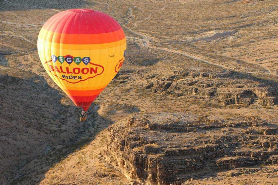 Crédito foto: divulgação Facebook Vegas Balloon Rides