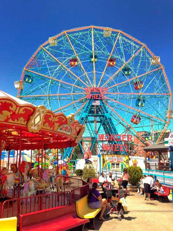 Coney Island/ Crédito foto:https://br.pinterest.com/pin/390968811377564956/
