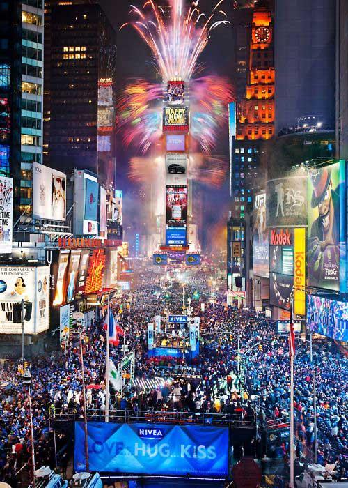Nova York é um dos destinos mais procurados pelos turistas no ano novo/ Crédito foto: https://br.pinterest.com/pin/330240585159705786/