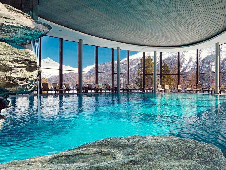 Badrutt's Palace Hotel (St. Moritz - Suíça), 1º colocado na categoria. Crédito foto: http://www.cntraveler.com/galleries/2016-01-08/gold-list-2016-the-most-tranquil-spas-in-the-world