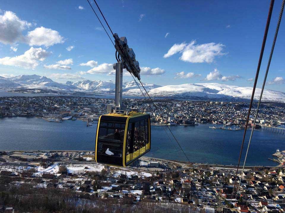 Crédito foto: reprodução Facebook Visit Tromso