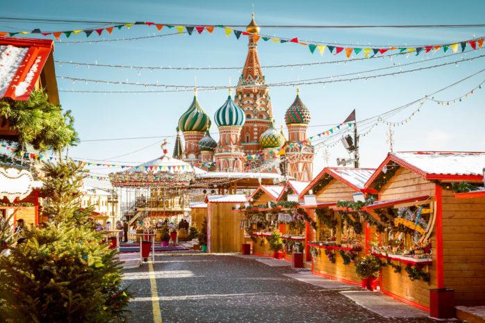 feira de natal moscow