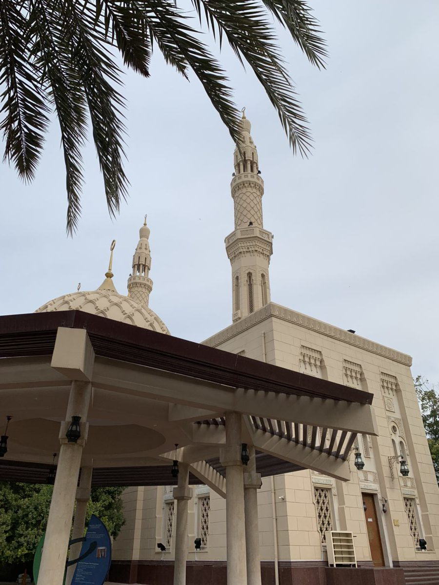 Mesquita mais famosa de Dubai