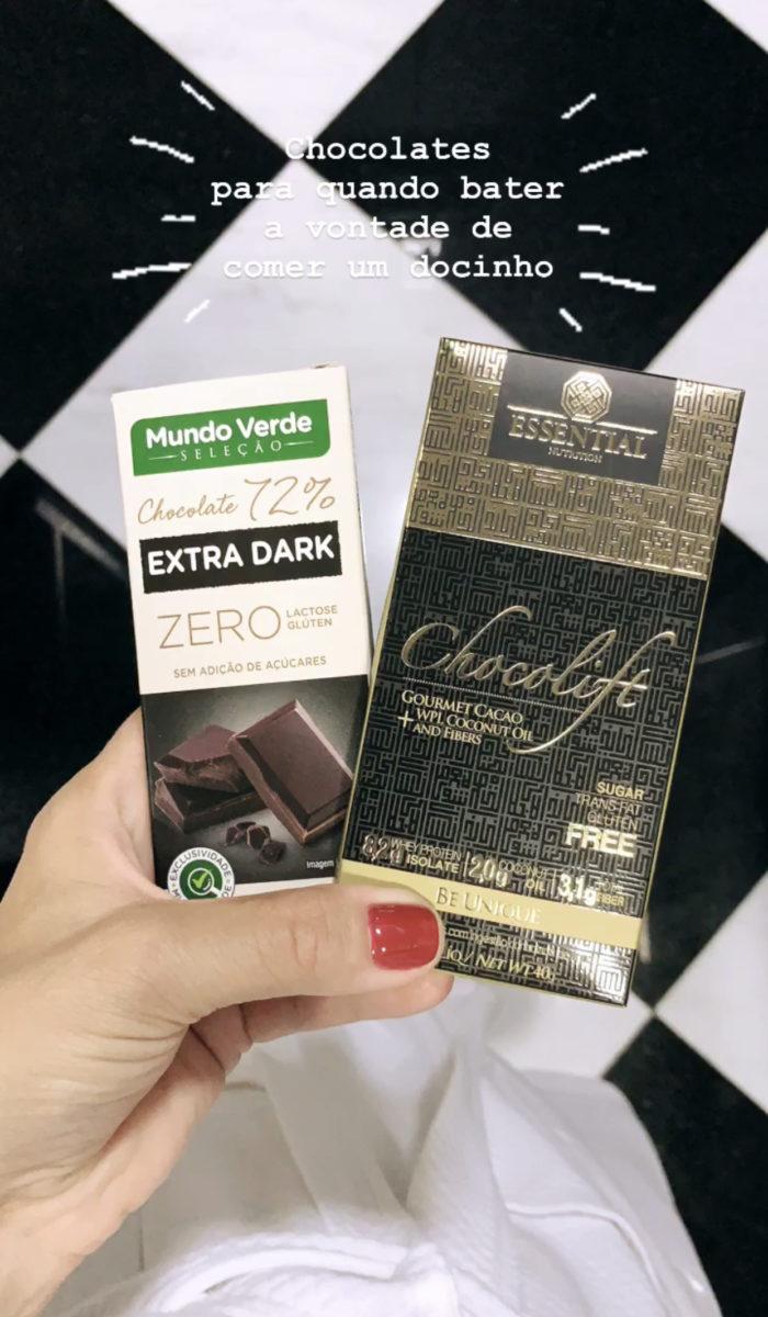 chocolates saudáveis para dieta