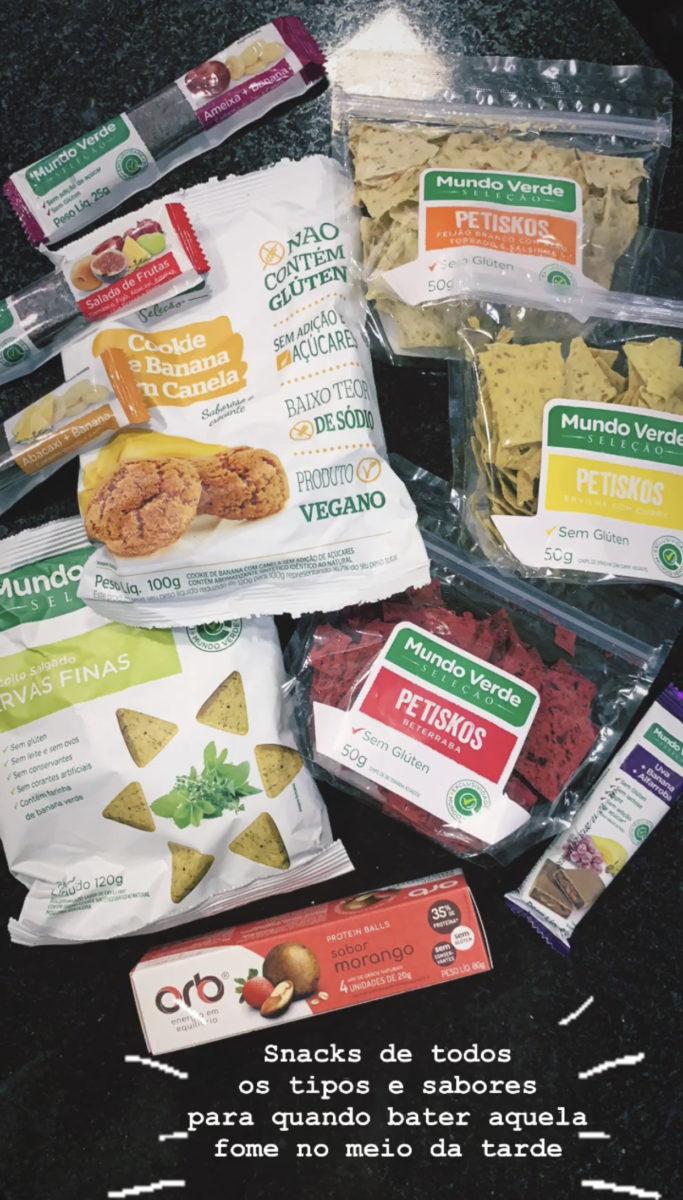 snacks saudáveis