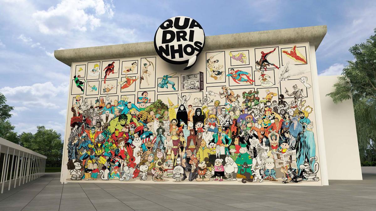 Exposição Quadrinhos em SP