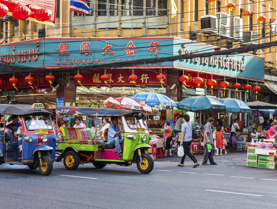 Chinatown em Bangkok
