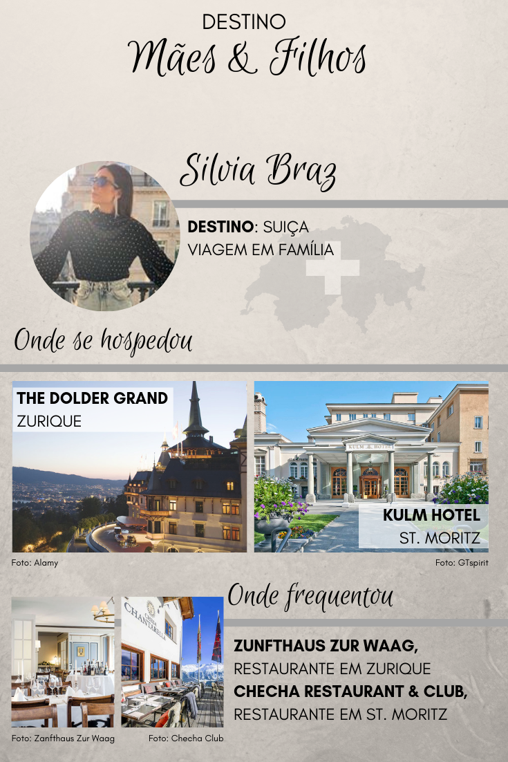 Silvia Barz | Viagem para Suiça