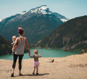 Viagem mães e filhos
