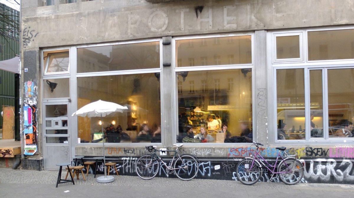 Cafeteria em Berlim