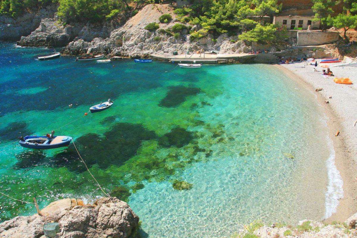 Mljet na Croácia
